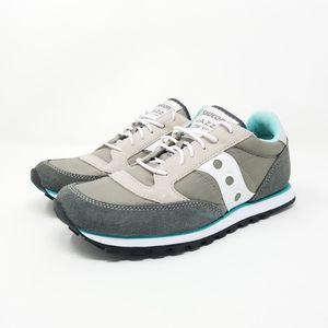 Saucony Jazz Low Pro Aqua & Gray Sneakers, 6.5